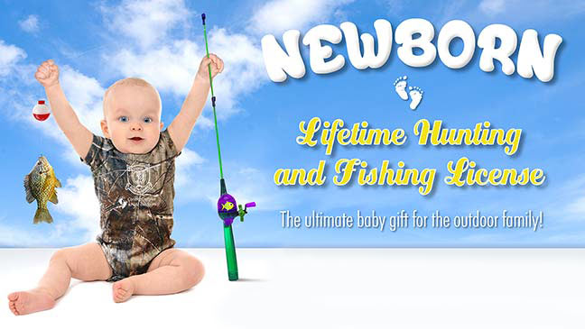 new hampshire offers newborn lifetime combination hunting and